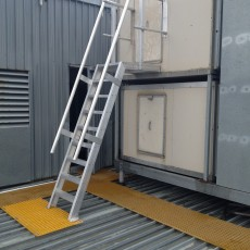 Aluminium Step Ladder - Universal Height Safety Bendigo
