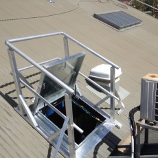 Hatch Guardrail - Universal Height Safety Bendigo