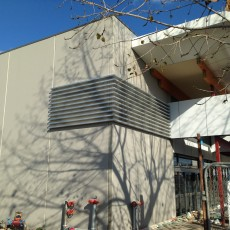 Decorative Ventilation Aluminium Louvre - Universal Height Safety Bendigo