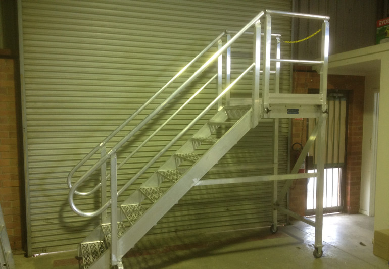 Aluminium Mobile Stairs