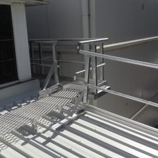 Non-slip Aluminium Platform - Universal Height Safety Bendigo