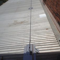 Static Line - Fall Arrest System for Roof Safety - Universal Height Safety