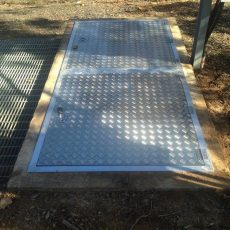 Aluminium Pit Lids & Safety Covers - Universal Height Safety - Universal Height Safety